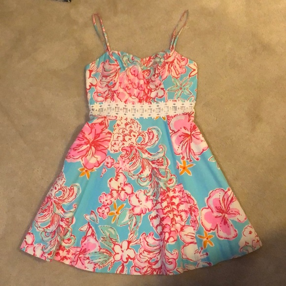 Lily Pulitzer Open Side Floral Dress